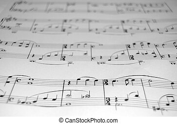 SheetMusic closeup