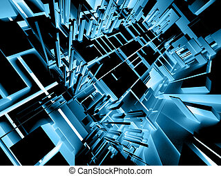 Abstract Background - Abstract 3d background.