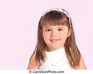 Toddler Girl Portrait - Little girl portrait