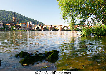 Old bridge - bridge in heidelberg