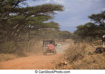 transporte,  007,  safari, veículo