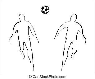 Soccer - illustration of soccer