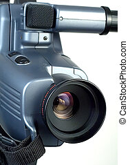 Video camera lens 2 - Video camera lens pointing to the...