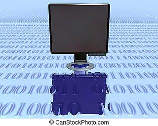 Lcd Monitor 2 - 3d Lcd Monitor