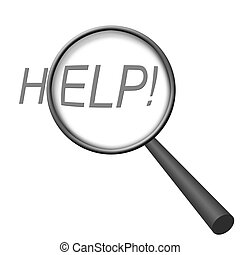 Looking for Help? (Magnifying Glass Series)