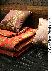 Bed linen - home interiors - Colorful bed linen