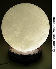 crystal ball glowing - OLYMPUS DIGITAL CAMERA a large...