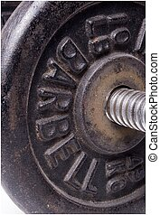 free weights - a barbell