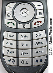 Phone keypad - Cellular phone keypad