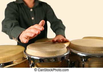drummer playing percussion