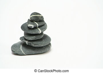 Pebble Stack - Stack of pebbles