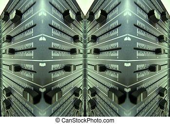midi controller faders - control faders of midi audio...