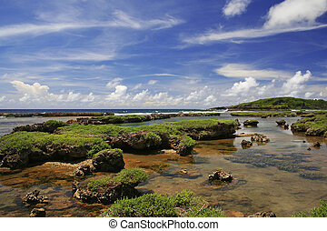Inarajan pool Guam - Inarajan pool in the southern part of...