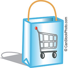 Shopping bag icon - Icon for shopping