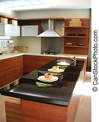 Kitchen counter - Kitchen with counter
