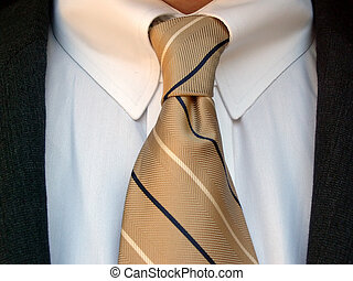 shirt and tie - business attire