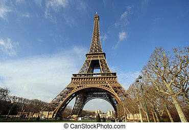 Eiffel tower pattern - A pattern made from image of the...