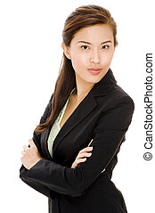 Asian Businesswoman - A seriously attractive asian...