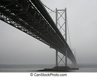 Forth Road Bridge, Edinburgh, Scotland