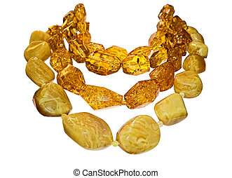 Amber necklaces - Necklaces with large ambers