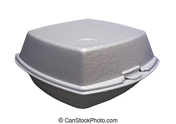 Fast-food box - Styrofoam box for fast food