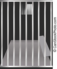 Jail Cell - Prison cell illustration
