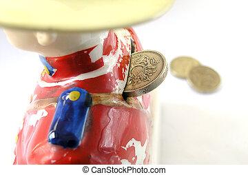 Moneybox - Ceramic moneybox