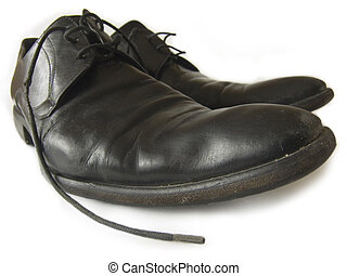 Favorite shoes - The pair of old dirty and favorite handmade...