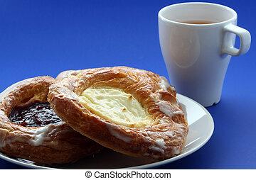 Danish bakery for breakfast
