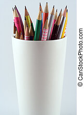 Pencils - Collection of pencils in a cup