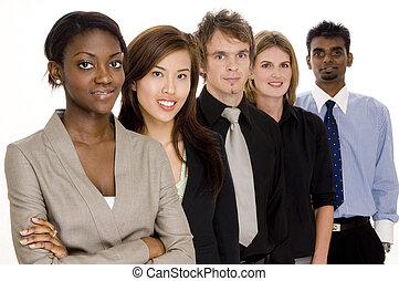 Diverse Business - A diverse business team