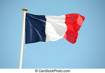 French tricolour - The french flag
