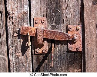 vintage latch