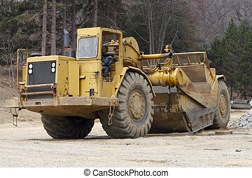 Heavy Equipment Grater Tractor