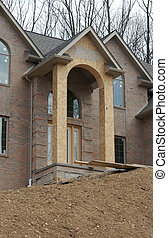 House Construction - Luxury Home Under Construction
