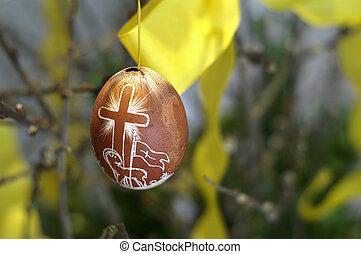 Christian Easter - A christian easteregg