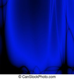 blue desktop - fractal blue desktop