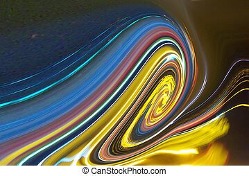 coloured swirl abstract background