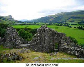 Castle Ruins - Castle ruins, Castle Y Bere, Wales
