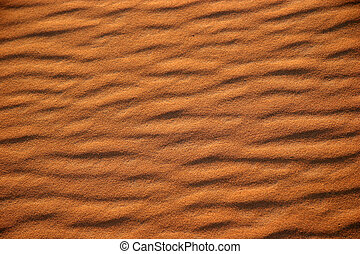 Desert patterns - Sand Patterns in the Sahara Desert,...