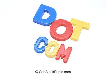 Dot Com Alphabets