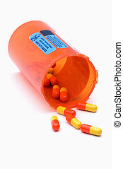 Pill Bottle - Prescription Bottle Of Medication