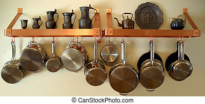 Hanging Pots and Pans 3 - Neat and orderly Residential...