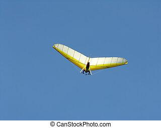 Hang Glider - Soaring hang glider