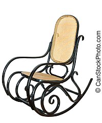 Rocking Chair - Isolated rocking chair