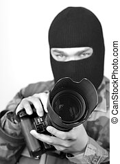 Photographer B and W 1 - Special Ops Photographer Focus on...
