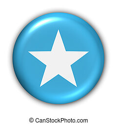 Somalia Flag - World Flag Button Series - Africa - Somalia...