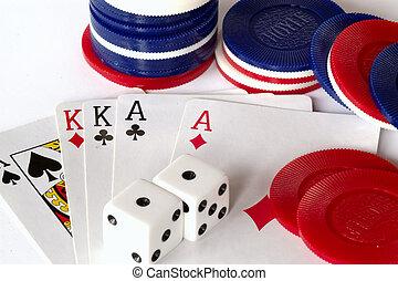 gambling - Playing to win, casino games.