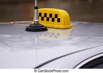 taxi top - taxicab