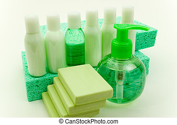Beauty Accessories - Set of Hygienic Cleansing Supplies